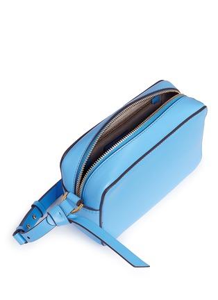 - Anya Hindmarch - 'Circle' mini interlocking strap leather crossbody bag