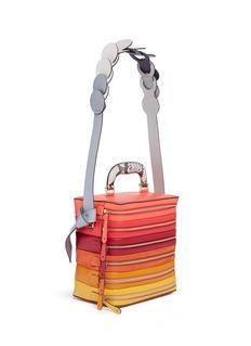 Anya Hindmarch'Stack Circle' six zip leather bag
