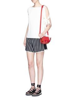 Anya Hindmarch'Vere Circulus' mini geometric leather satchel