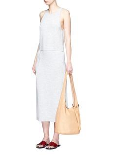 Elizabeth and James'Finley Courier' tassel leather hobo bag