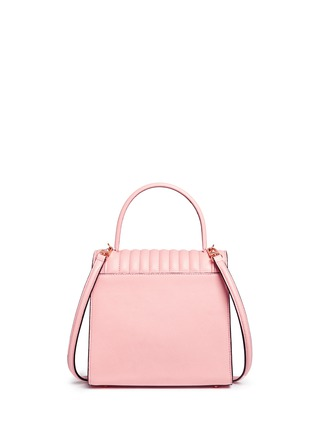 Detail View - Click To Enlarge - Delage - 'Freda Mini' leather crossbody satchel