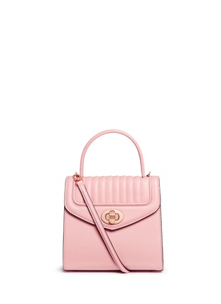 Main View - Click To Enlarge - Delage - 'Freda Mini' leather crossbody satchel