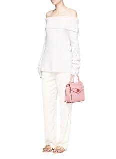 Delage'Freda Mini' leather crossbody satchel
