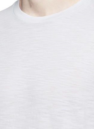 Detail View - Click To Enlarge - Theory - 'Koree' cotton slub jersey T-shirt