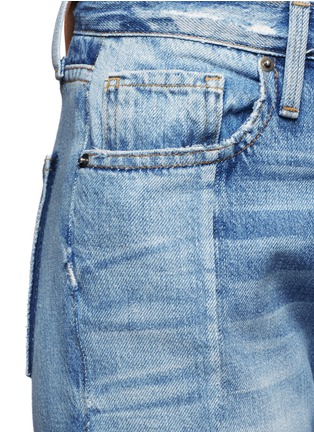 Detail View - Click To Enlarge - Frame Denim - 'Nouveau Le Mix' one of a kind jeans