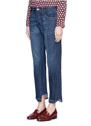 Front View - Click To Enlarge - Frame Denim - 'Nouveau Le Mix' cropped jeans