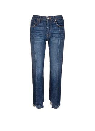 Main View - Click To Enlarge - Frame Denim - 'Nouveau Le Mix' cropped jeans