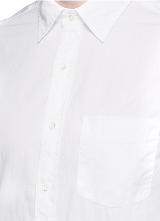 Detail View - Click To Enlarge - Alex Mill - 'Shore' patch pocket cotton shirt