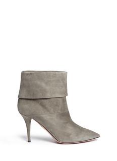 AQUAZZURA'Sasha' suede ankle boots
