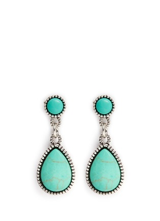 Philippe Audibert - 'Crees' stone teardrop earrings