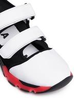 'Scarpa' double strap techno mesh sneakers