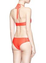 'Tamarindo' macramé boy short bikini bottoms