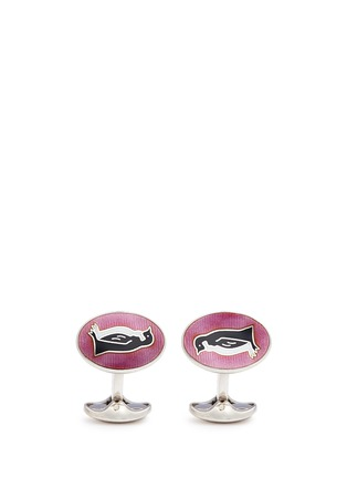 Main View - Click To Enlarge - Deakin & Francis  - Penguin cufflinks
