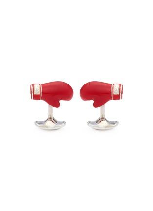 首图 - 点击放大 - DEAKIN & FRANCIS - 拳击手套造型纯银袖扣