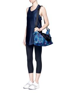 MARA HOFFMAN'Voyager' print riptstop gym bag