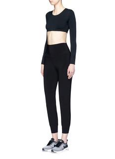 Norma Kamali'Go Jog' stretch jersey pants