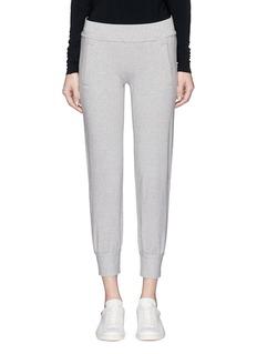 Norma KamaliFrench terry jogging pants