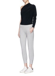 Norma Kamali French terry jogging pants