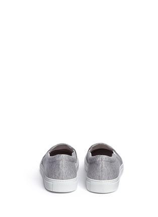 背面 - 点击放大 - JOSHUA SANDERS - NY字母布贴厚底便鞋