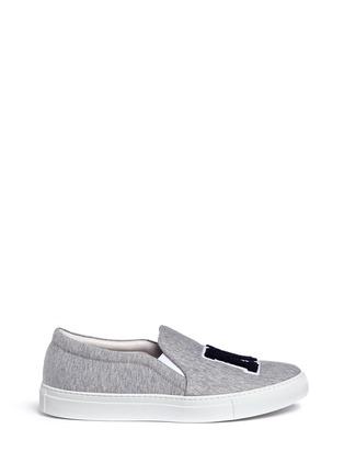首图 - 点击放大 - JOSHUA SANDERS - NY字母布贴厚底便鞋