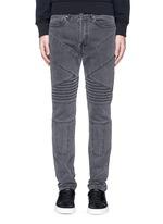 Slim fit biker jeans