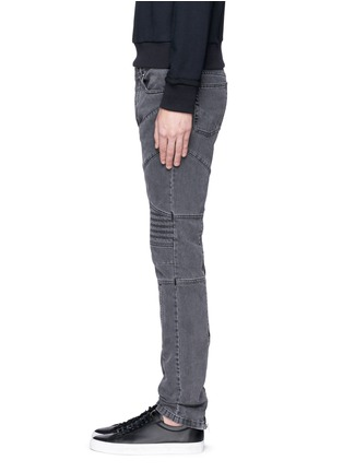 Detail View - Click To Enlarge - Givenchy Beauty - Slim fit biker jeans