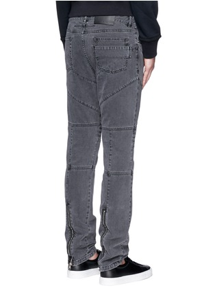 Back View - Click To Enlarge - Givenchy Beauty - Slim fit biker jeans
