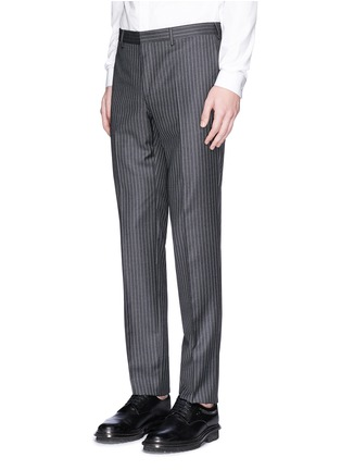 Givenchy - Madonna collar pinstripe wool suit