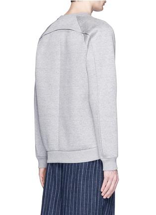 背面 - 点击放大 - GIVENCHY - 镂空金属圈装饰太空棉卫衣