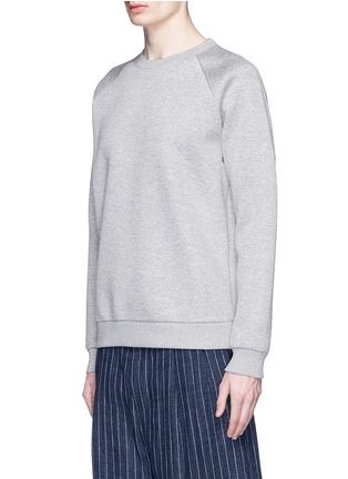 正面 -点击放大 - GIVENCHY - 镂空金属圈装饰太空棉卫衣