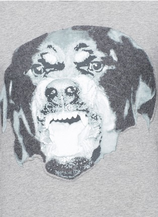 Detail View - Click To Enlarge - Givenchy - Rottweiler print T-shirt