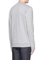 Rottweiler appliqué sweatshirt