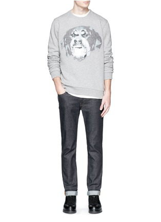 Figure View - Click To Enlarge - Givenchy - Rottweiler appliqué sweatshirt
