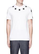 Star bouclé appliqué T-shirt