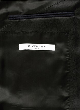 - Givenchy Beauty - Satin Madonna collar wool jacquard tuxedo suit