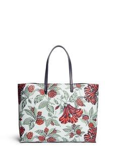 TORY BURCH'Kerrington' floral print square tote