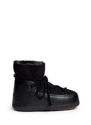 Main View - Click To Enlarge - INUIKII - 'Classic' suede sheepskin shearling boots