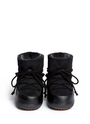 Figure View - Click To Enlarge - INUIKII - 'Classic' suede sheepskin shearling boots