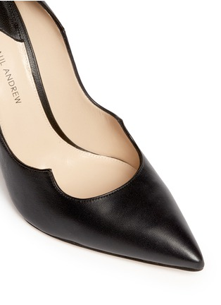 Detail View - Click To Enlarge - Paul Andrew - 'Zenadia' leather pumps