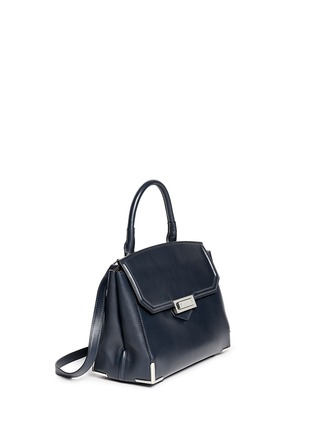 Front View - Click To Enlarge - Alexander Wang  - 'Marion' large Prisma leather shoulder bag