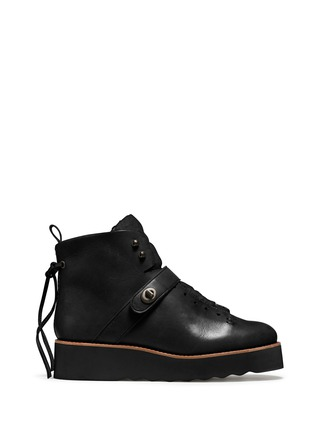 Detail View - Click To Enlarge - Coach - x BLITZ 'Urban Hiker' shearling ankle boots