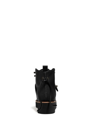 Back View - Click To Enlarge - Coach - x BLITZ 'Urban Hiker' shearling ankle boots