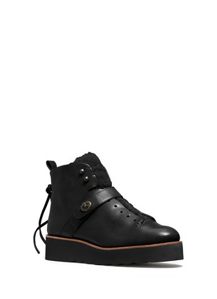 Main View - Click To Enlarge - Coach - x BLITZ 'Urban Hiker' shearling ankle boots