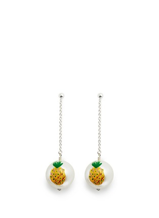 Main View - Click To Enlarge - Venessa Arizaga - 'Piña' pineapple drop earrings