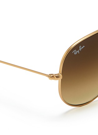 RAY-BAN - Large wire aviator sunglasses
