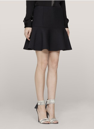 Main View - Click To Enlarge - Theory - Flared mini skirt