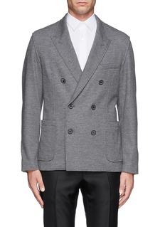 LANVINDouble breasted jersey blazer