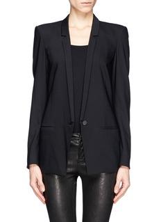 HELMUT LANG'Le smoking' wool tuxedo blazer