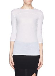 HELMUT LANGSchema jersey T-shirt