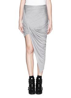 HELMUT LANGAsymmetric wrap skirt